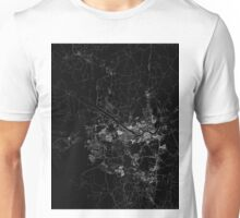 Seoul map South Korea Unisex T-Shirt