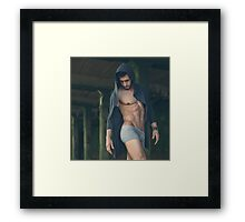 Sexy Male Model, Andrew Framed Print