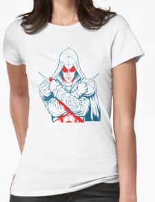 Assassins Creed, Ezio Womens Fitted T-Shirt