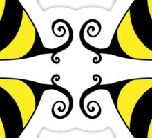 Bumble Bee Pattern Sticker