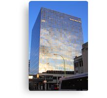 Reflections in Downtown Winnipeg Canvas Print