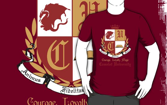 Camelot University (Big, Colour) by KitsuneDesigns