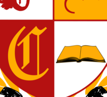 Camelot University (Big, Colour) Sticker