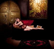 Katja in the Harem by Quixotegraphics