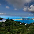 above Megan's cay by iamwiley