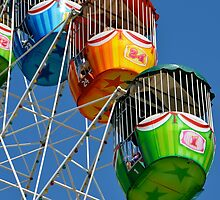 Ferris Wheel detail by AHigginsPhoto