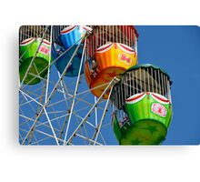 Ferris Wheel detail Canvas Print
