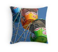 Ferris Wheel detail Throw Pillow