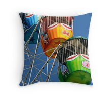 Ferris Wheel detail Throw Pillow