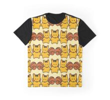 Squirrel Pattern  Graphic T-Shirt