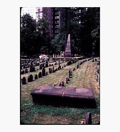 Boston Cementery Photographic Print