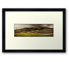 Mudgee Panorama Framed Print