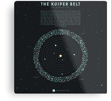The Kuiper belt Metal Print