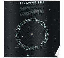 The Kuiper belt Poster