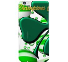 Celtic Football Champions Design iPhone Case/Skin