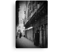 streets of Venice Canvas Print