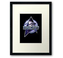 star trek T shirt Framed Print