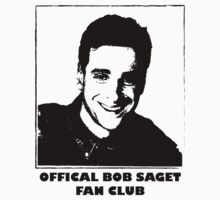 Official Bob Saget Fan Club Shirt Kids Clothes