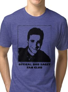 Official Bob Saget Fan Club Shirt Tri-blend T-Shirt