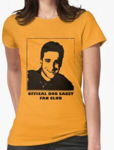 Official Bob Saget Fan Club Shirt Womens Fitted T-Shirt