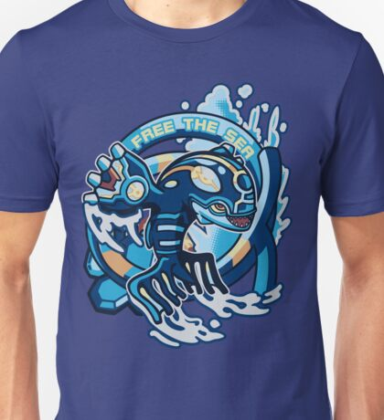 Free The Sea Unisex T-Shirt