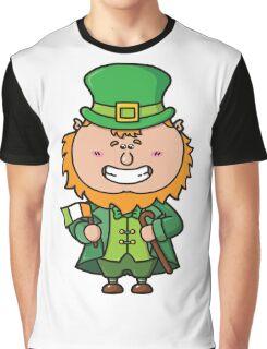 kawaii Leprechaun Graphic T-Shirt