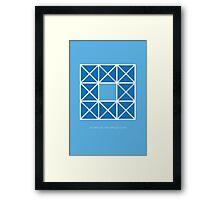 Design 46 Framed Print