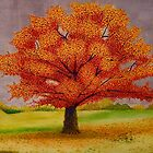 fall tree by rebeccah fries