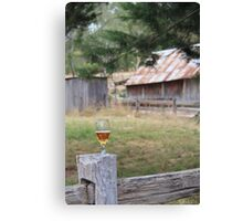 beer, in focus Canvas Print