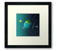 Little Planet Framed Print