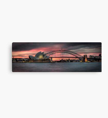 Sydney's Icons Canvas Print