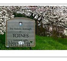 Totnes twinned with Narnia by hilary bravo