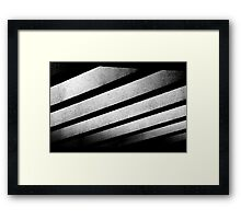 play of light Framed Print