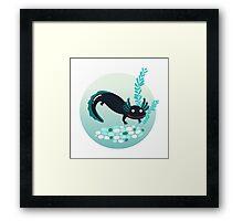 A lotl axolotl Framed Print