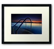 Malabar Rock Pool Framed Print