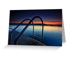 Malabar Rock Pool Greeting Card