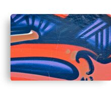 Graffiti detail Canvas Print