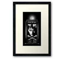 David the Tenth Doctor Framed Print