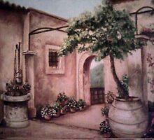 Courtyard by Fannyja