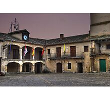 Plaza de Pedraza (colour) Photographic Print