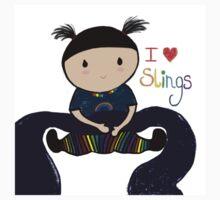 I love slings! Kids Tee
