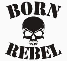 Born Rebel One Piece - Short Sleeve