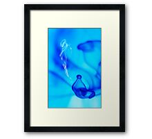 Genie from the bottle Framed Print