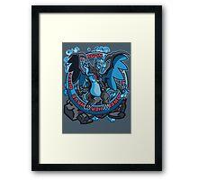 Charizardite X Framed Print