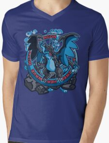 Charizardite X Mens V-Neck T-Shirt