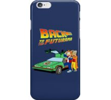 Back to the Future Futurama iPhone Case/Skin