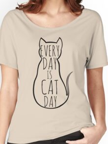 every day is cat day Women's Relaxed Fit T-Shirt