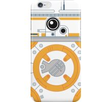 Minimal BB8 Droid iPhone Case/Skin