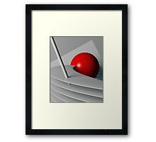 Cherry Float Framed Print