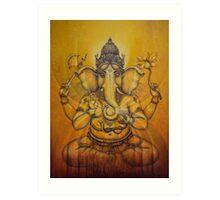 Ganesha darshan Art Print